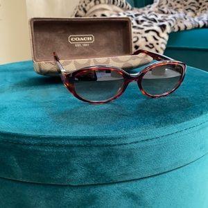 Coach Sabrina Tortoise Sunglasses